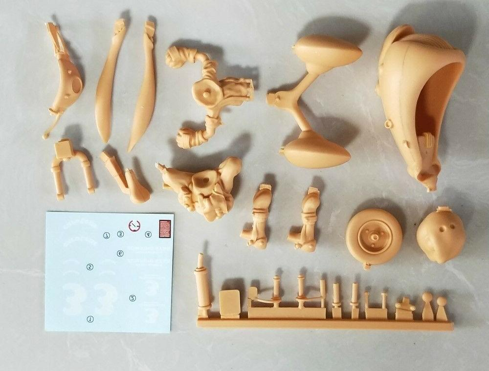 Resin Figure Kit Rabbit with Garage