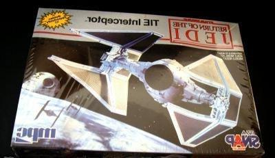 Star Wars Return of the Jedi Tie Interceptor Model