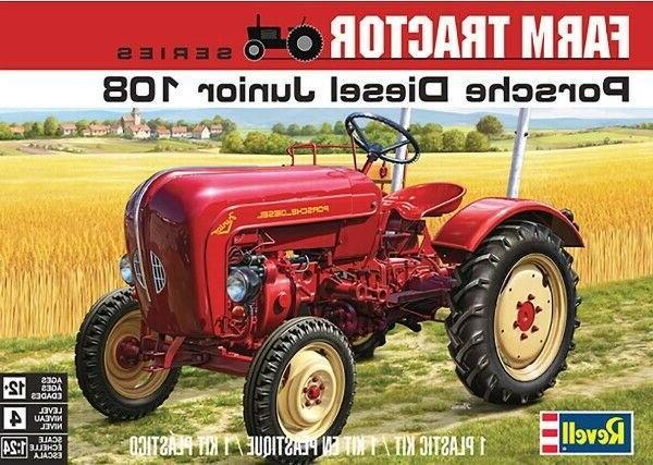 revell 4485 porsche diesel junior 108 tractor