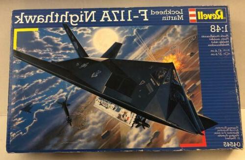 revell f 117a nighthawk plastic model airplane