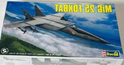 russian mig 25 foxbat plastic model kit