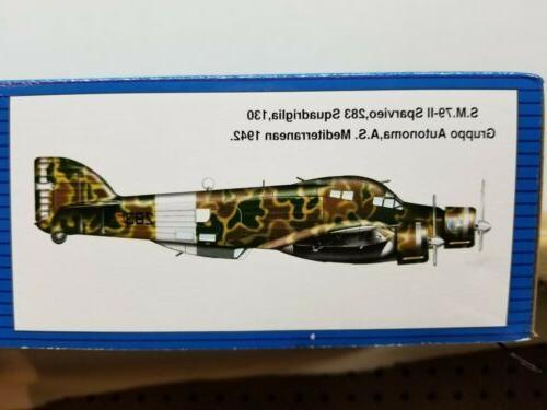 Trumpeter Savoia-Marchetti S.M. 79-II Sparviero 1/48 Model Kit 02817