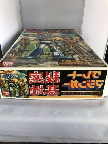 *Sealed 1998 Mazinger Tranzor Z Plastic Kit NIB Japan