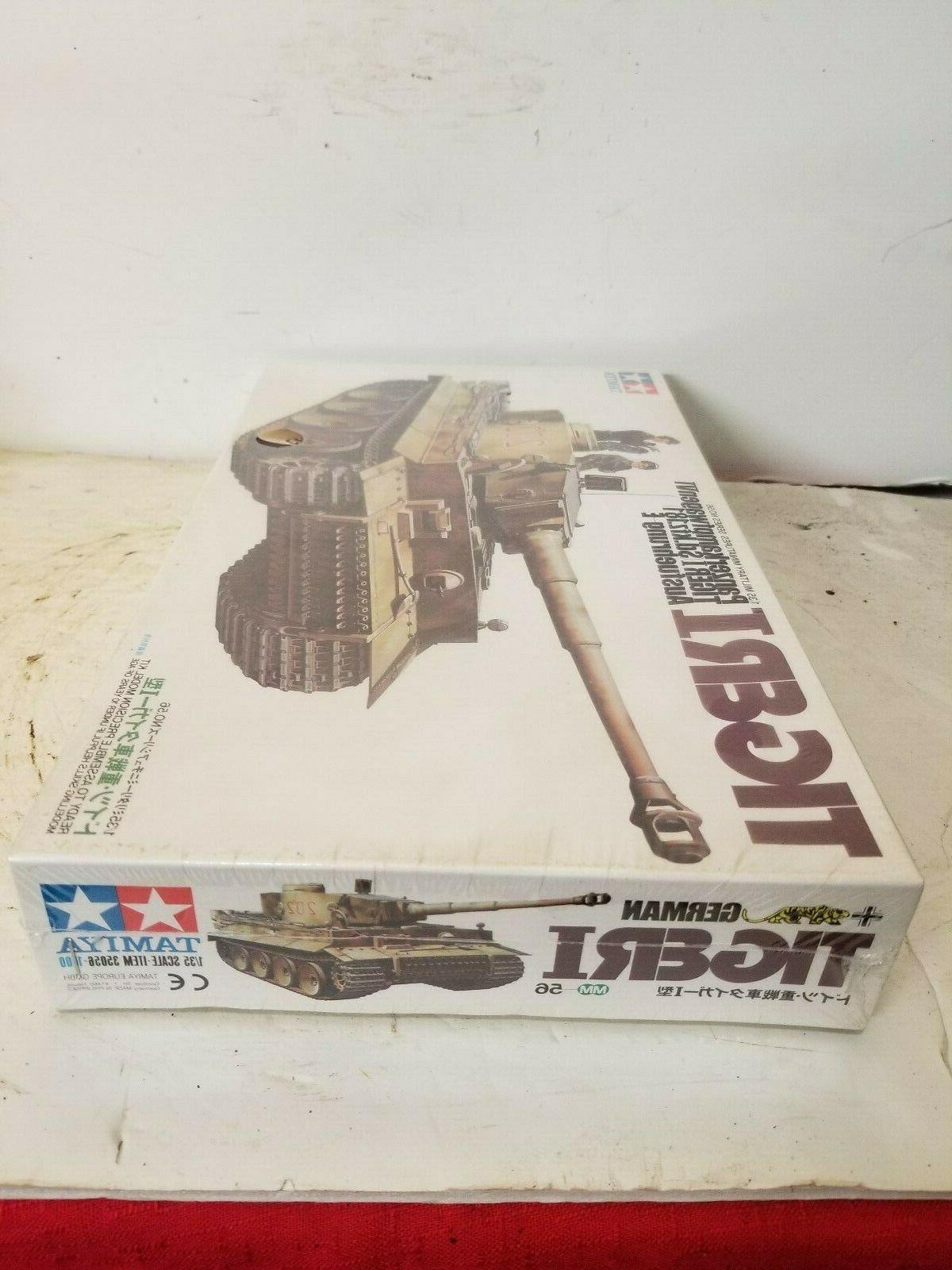 TAMIYA WWII Model TIGER 1 1/35 SCALE