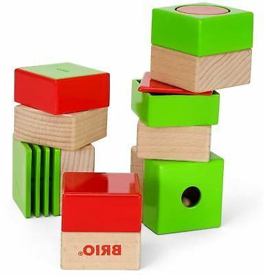 Brio SENSORY BLOCKS Baby Infant Toddler Wooden Toy