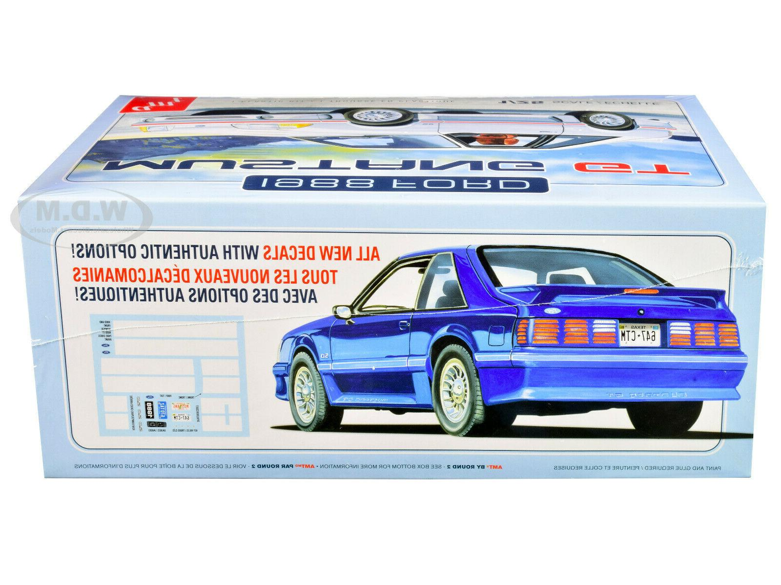 SKILL 1988 FORD MUSTANG 1/25 AMT M