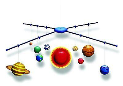 Solar System Kit Mobile Glow Dark 4M Making 3D Science Proje