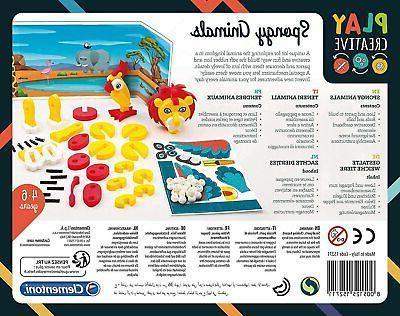 Clementoni Spongy Creative Soft Model Kit,