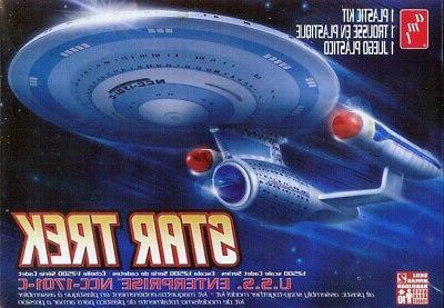 AMT Star Trek USS Enterprise 1701-C Cadet Series 1/2500 Scal