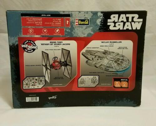 Star Pack 2 Models Falcon Tie Fighter Lights Sounds