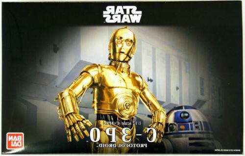 Bandai Star Wars C-3PO Protocol Droid 1/12 scale kit 964182