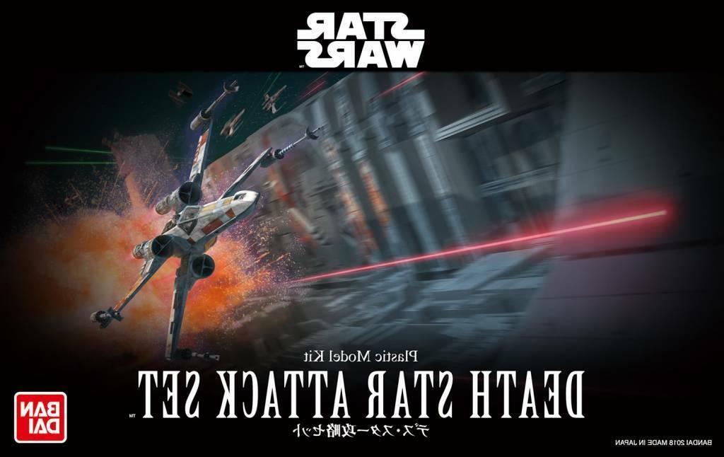 Bandai Star Wars Death Star Attack Set 1/144 Scale Building