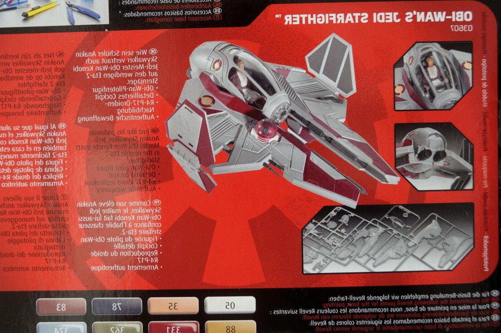 Star Wars WAN JEDI 03607 Plastic Model Kit Disney