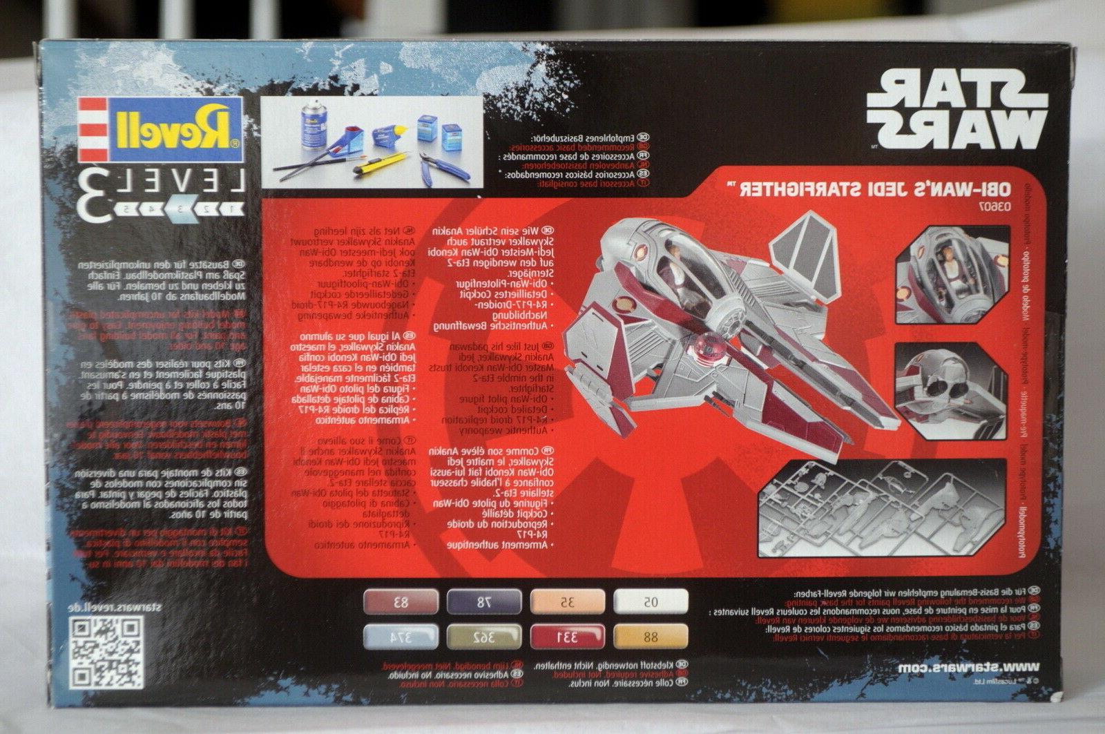 Star Revell OBI WAN STARFIGHTER Plastic Disney