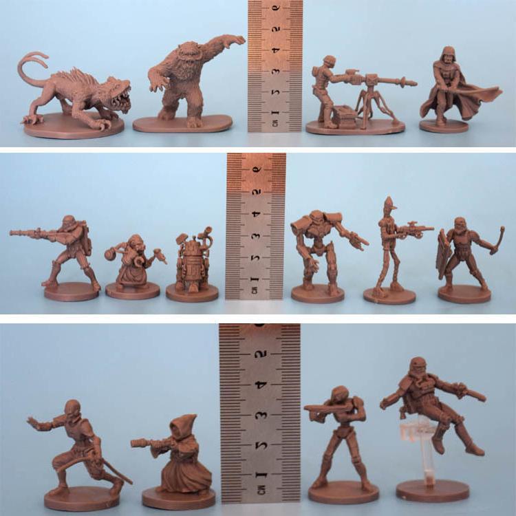 Star Wars Wargame Scale Resin Figure <font><b>Kit</b></font> Robot Static Modelling Tools Unpainted
