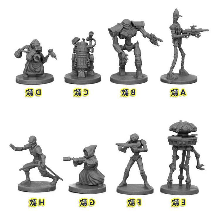 Star Scale <font><b>Model</b></font> <font><b>Kit</b></font> Robot Miniature Static Modelling Tools
