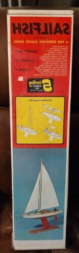 Sterling Models Sailfish Kit B-23 Free or RC Model Sealed in