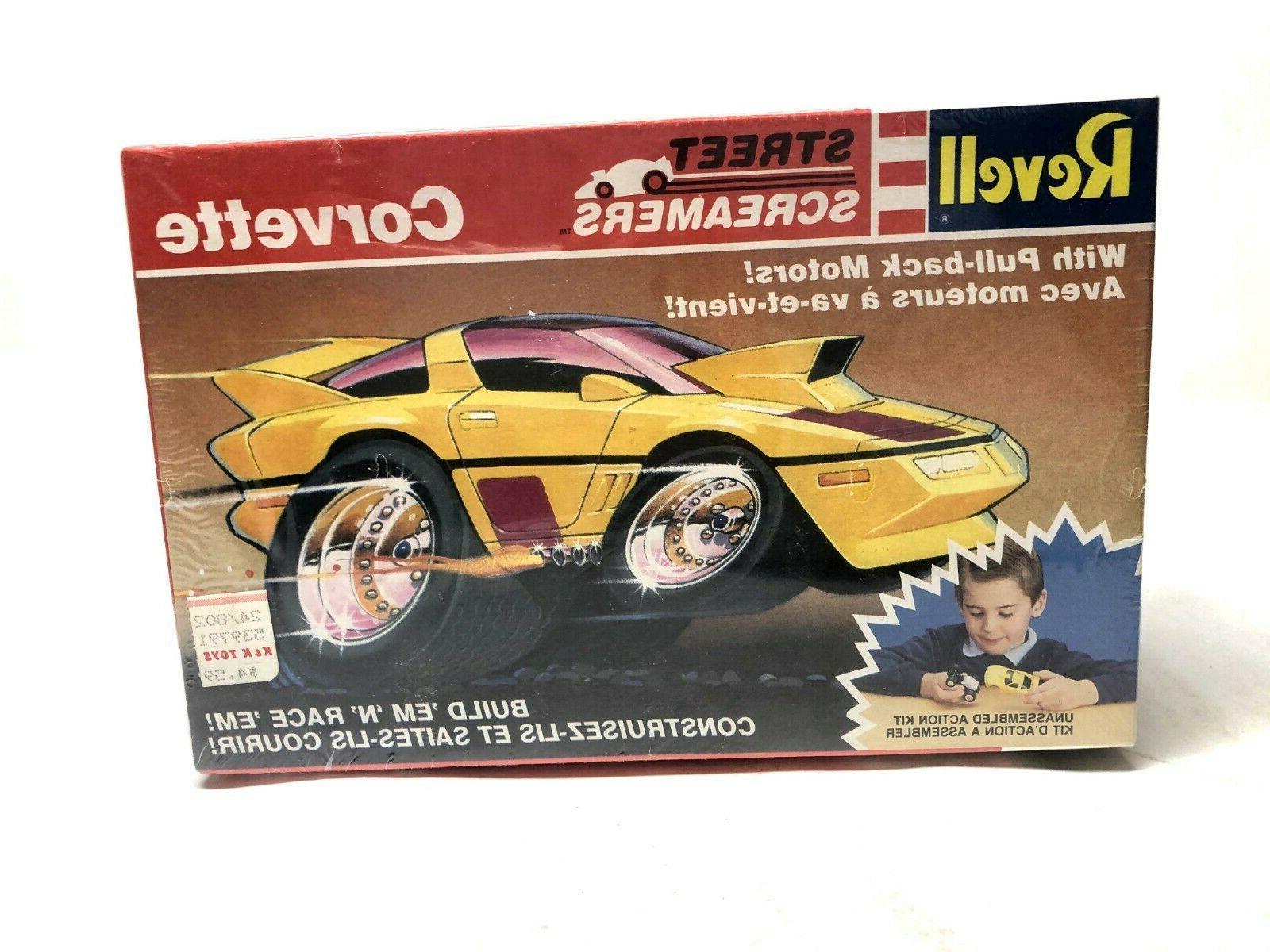 street screamers corvette plastic model kit 6077