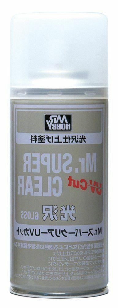 Mr. Hobby Mr. Super Clear Gloss UV Cut Spray 170ml B522 B-52