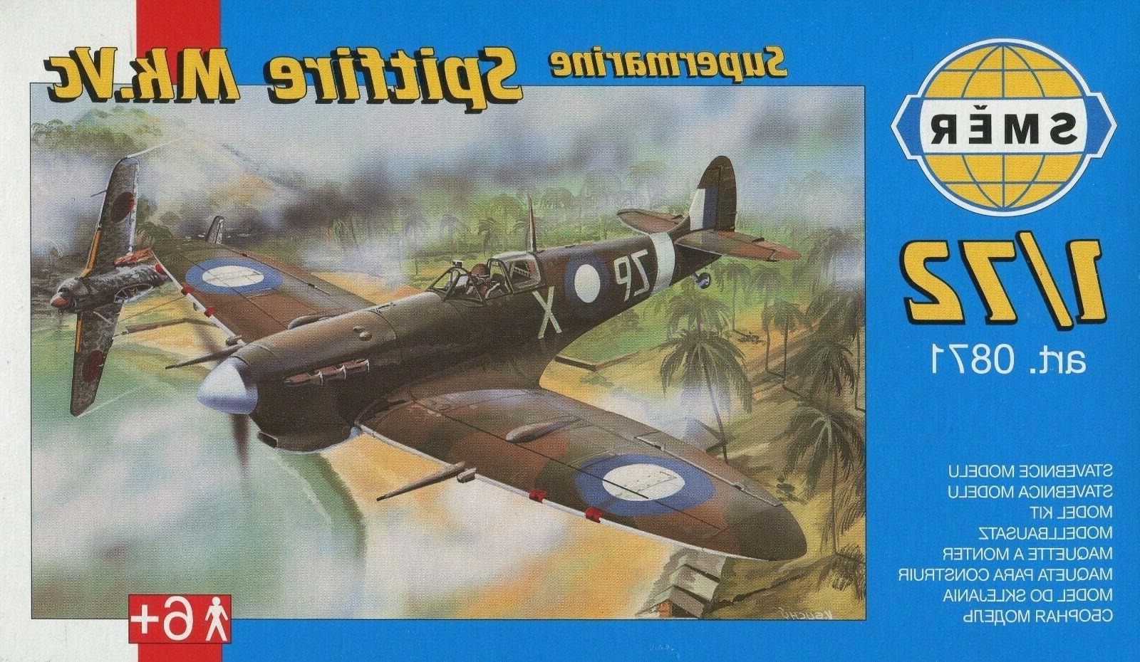 supermarine spitfire mk vc 1 72 model