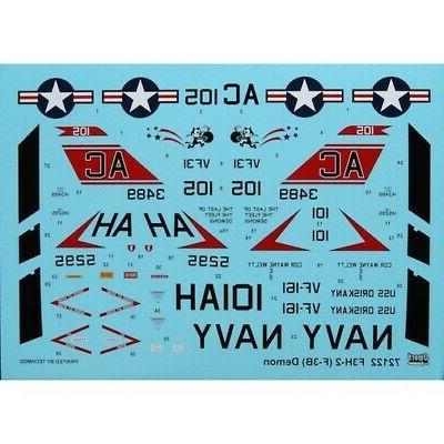 Sword 1/72 F3H-2 DEMON Navy Jet