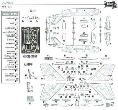 Sword 1/72 MCDONNELL F3H-2N/M DEMON Jet