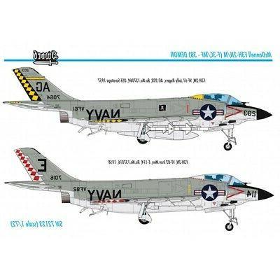 Sword Models 1/72 MCDONNELL F3H-2N/M DEMON U.S. Jet Fighter