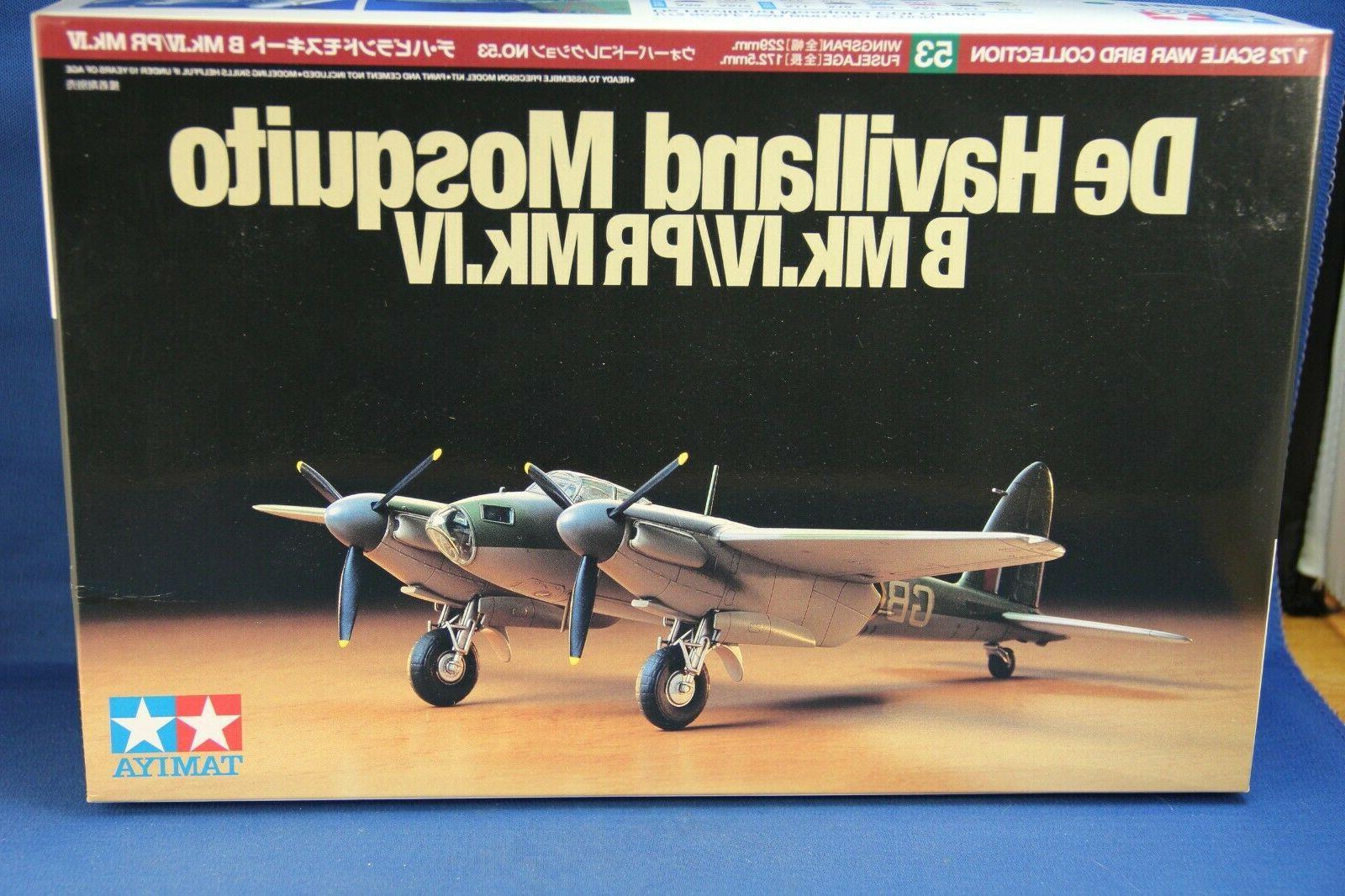 Tamiya1:72 Model Plane Kit NIB/ B IV