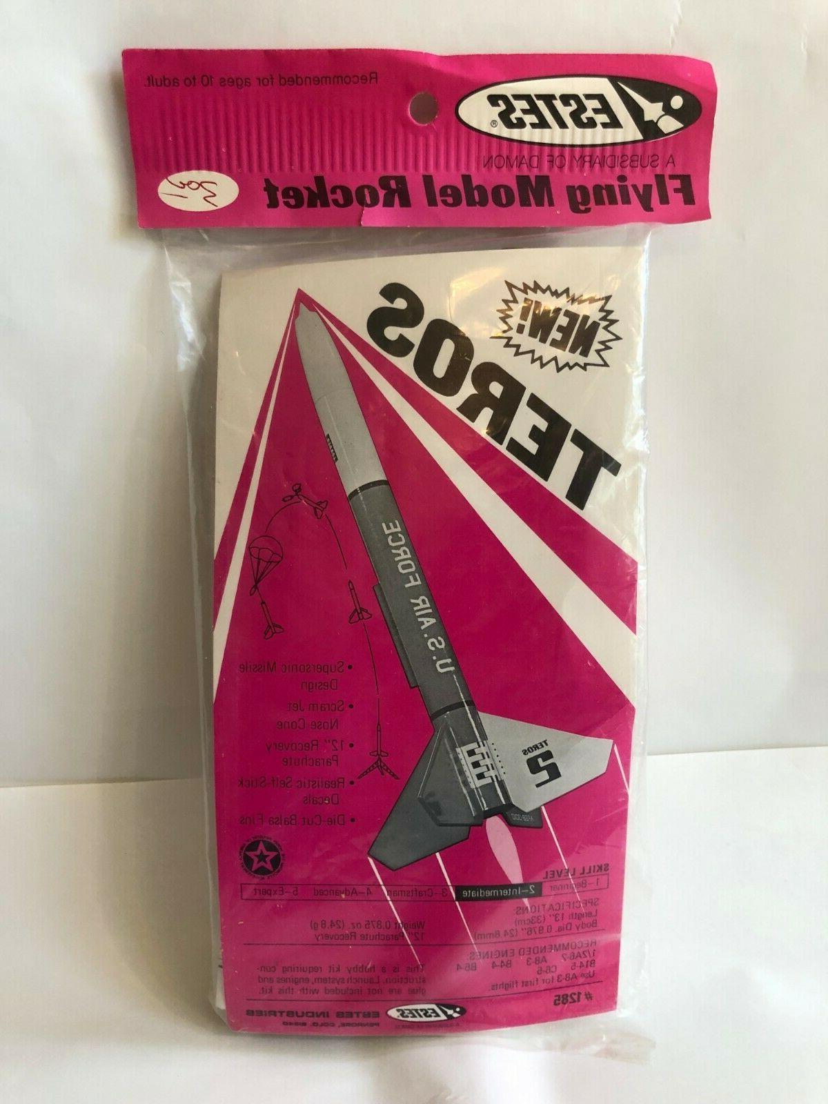 teros flying model kit 1285 scram jet