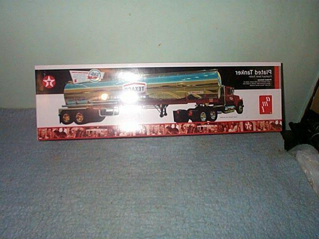 texaco plated tanker fruehauf semi trailer model