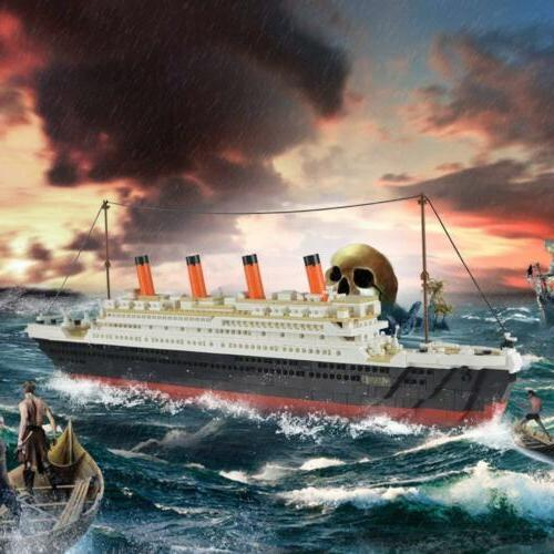 Zestawy konstrukcyjne Lego Ship Titanic Building Blocks