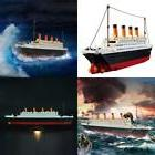 titanic building blocks lego ship model set