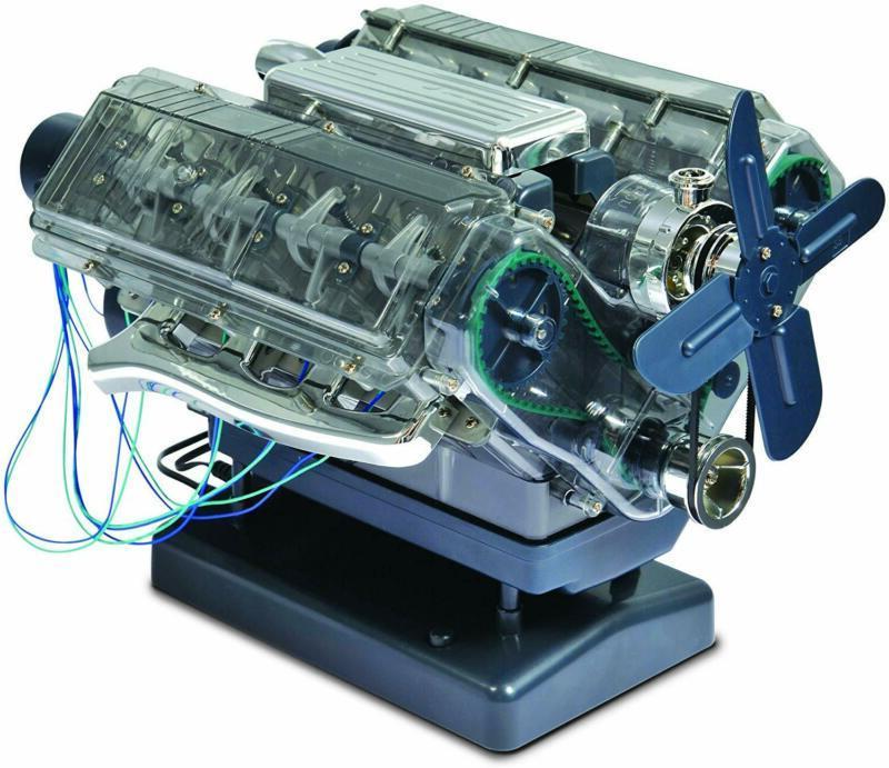 Trends Uk Haynes Build Your Own Working V8 Engine, Motorized