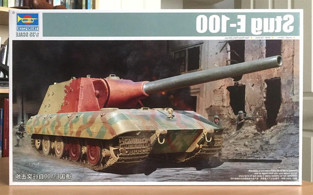 trumpeter 1 35 stug e 100 tank