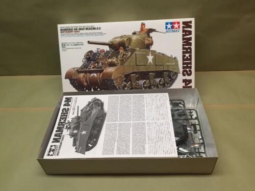 TAMIYA U.S. Tank M4 1:35 model
