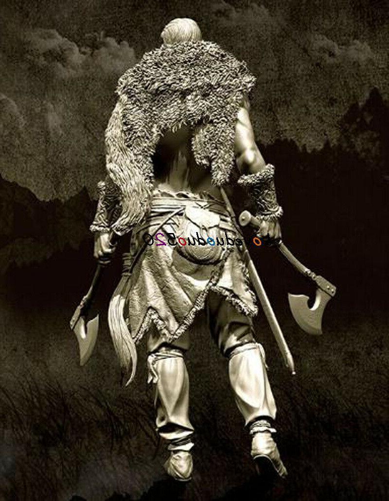 Unassambled Warrior Garage Kits Warrior Figure