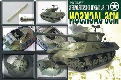 AFV Club US M36 Jackson Tank Destroyer -- Plastic Model Tank