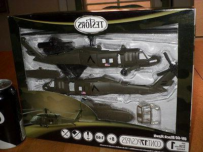 USA - UH-60 BLACK HAWK HELICOPTER, SNAP TOGETHER- PLASTIC MO