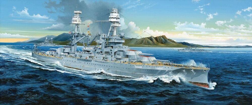 Trumpeter USS Arizona BB-39 1941 1/200 scale plastic model s