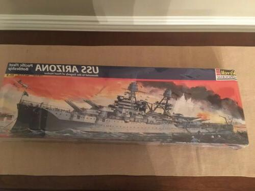 Revell USS Arizona Pacific Fleet Pearl Harbor Battleship Mod