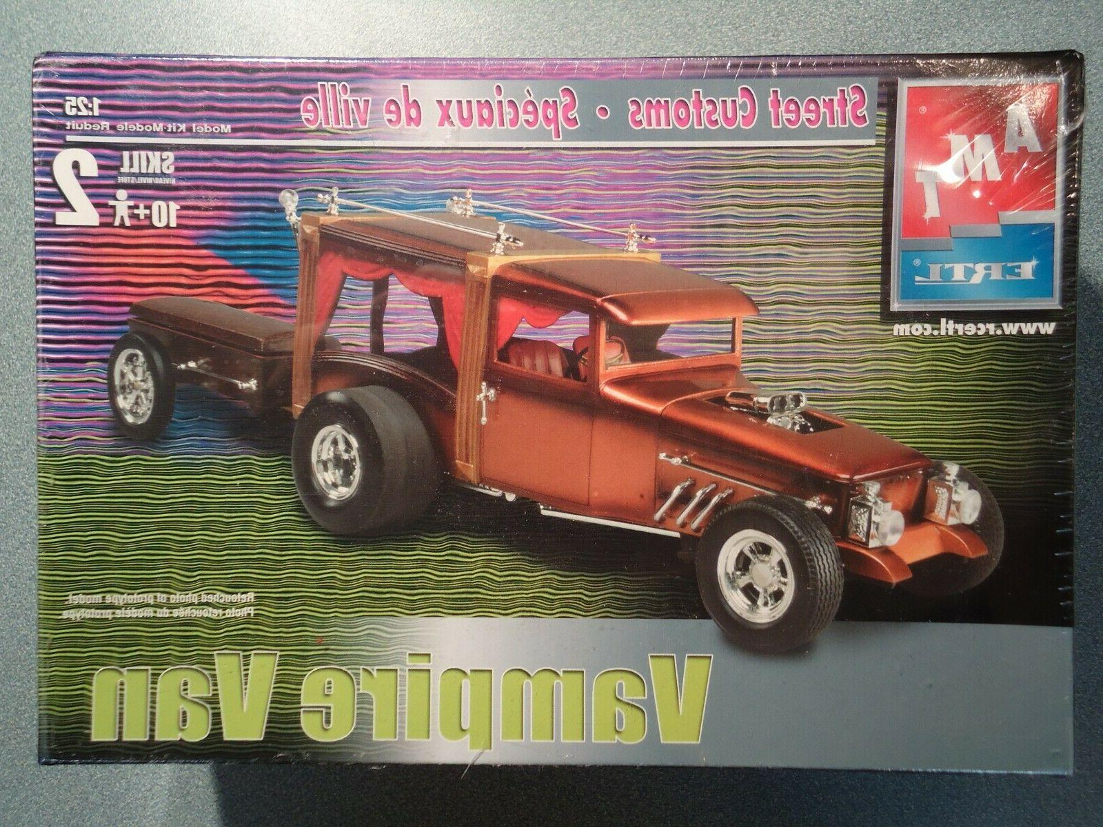 vampire van street customs model kit 1