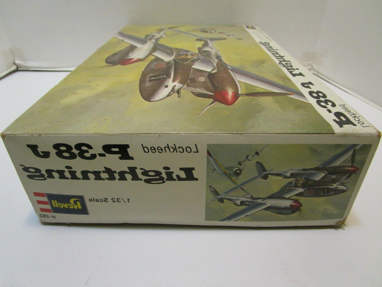 VINTAGE 1970 LIGHTNING MODEL KIT &