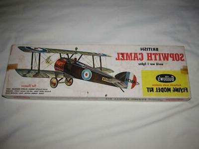 vintage guillow s flying model kit sopwith