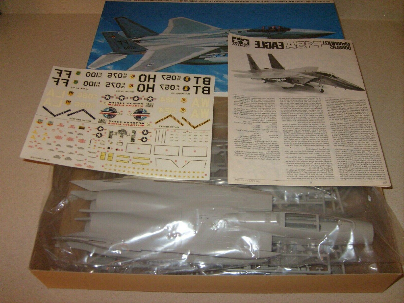 Vintage Tamiya Douglas F-15A Eagle 1/48 NEW Model Kit