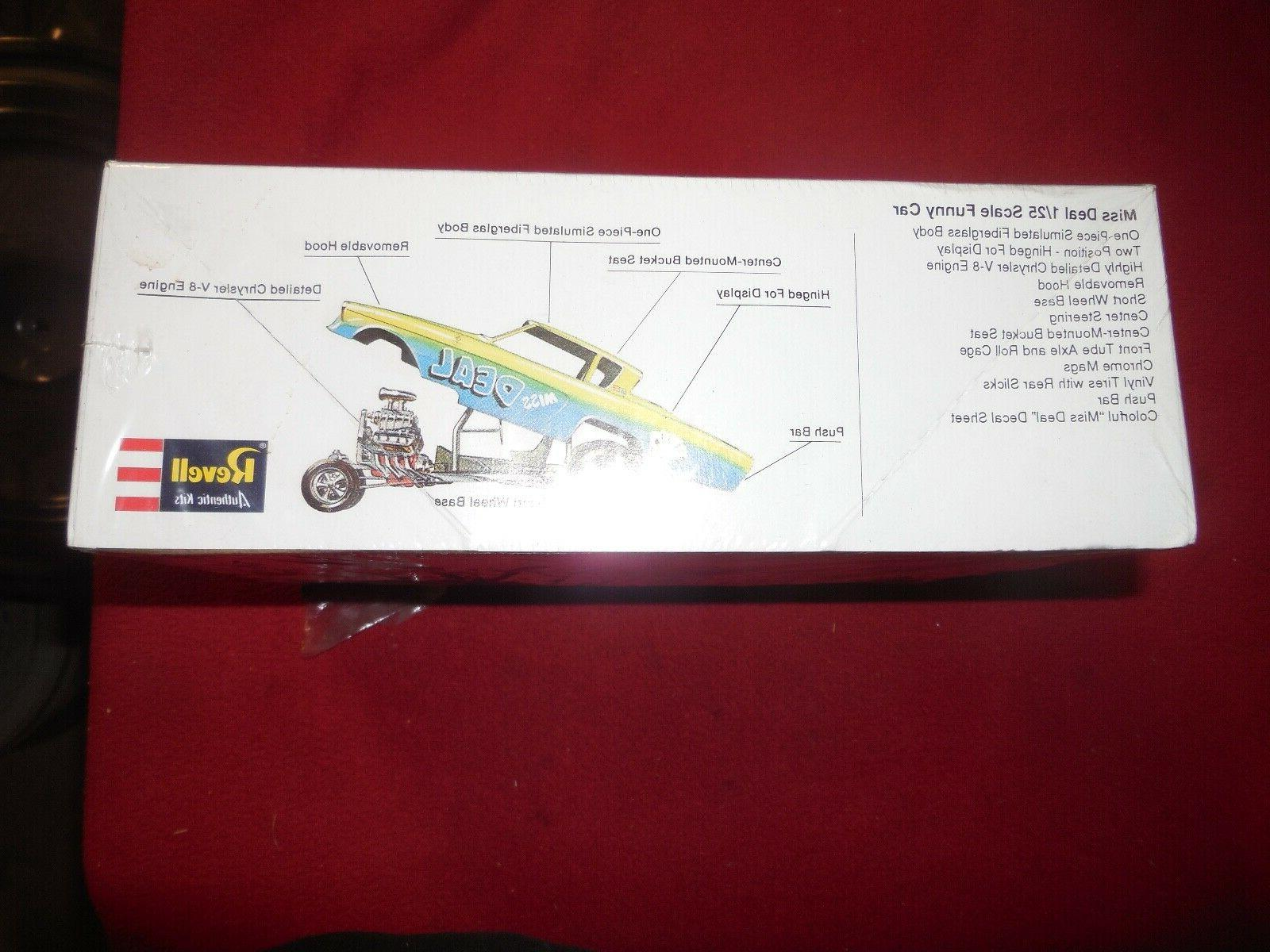 "Vintage ""Miss Deal"" Studebaker car scale model box"