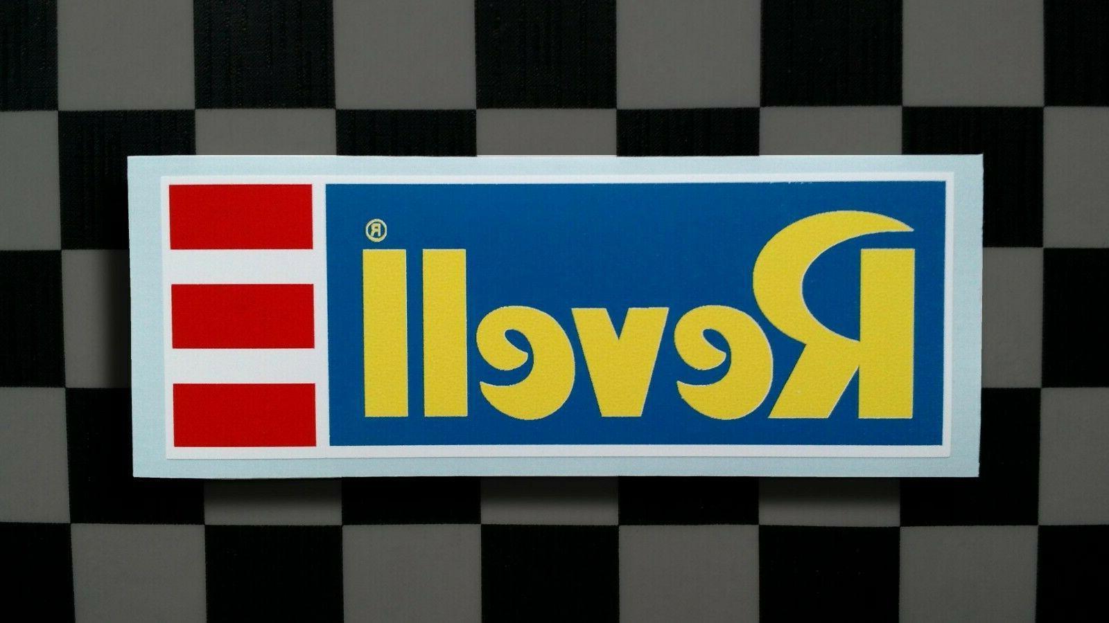 vintage style model kit manufacturer sticker decal