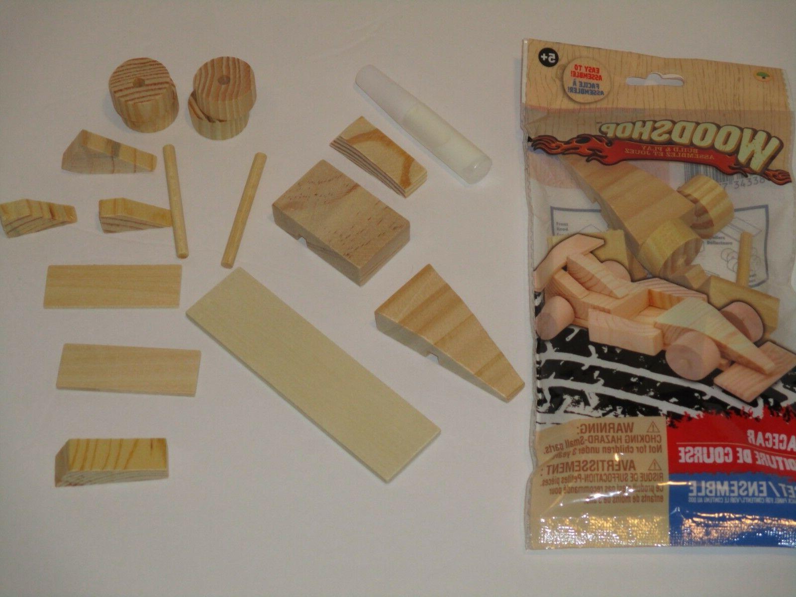Wood Shop Model Kit - Build Wooden Toy,