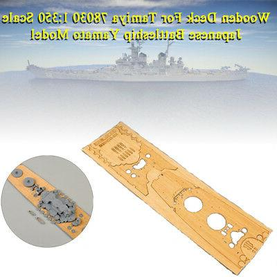 Wooden Deck For Tamiya 78030 1:350 Scale Japanese