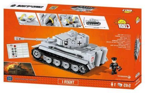 COBI of Tanks Tiger 3000B 545 Pcs