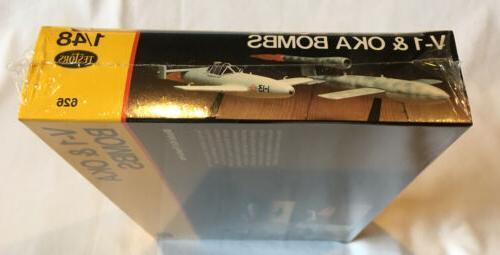 Testors Jet Bomb & OKA Rocket Bomb Kit NIB